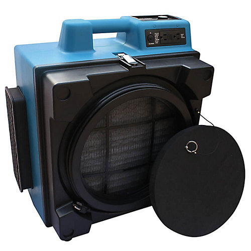 3 Étapes Hepa Air Scrubber Professionnel