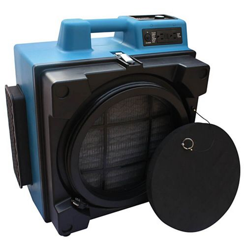 Professional 3-Stage Hepa Air Scrubber