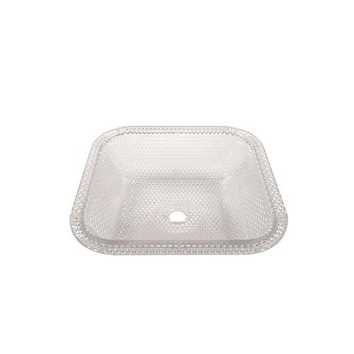 Evier sous plan Reflets de Cristal