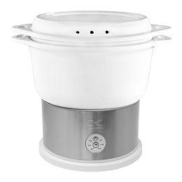 cuit-vapeur céramique digital blanc