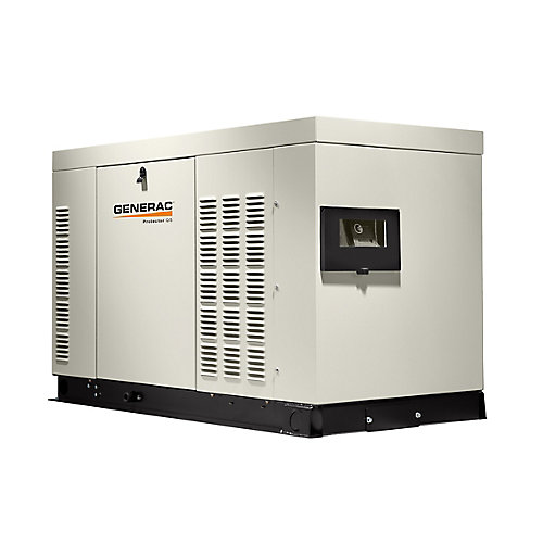 25,000-Watt 120-Volt/208-Volt Liquid Cooled Standby Generator 3-Phase with Aluminum Enclosure