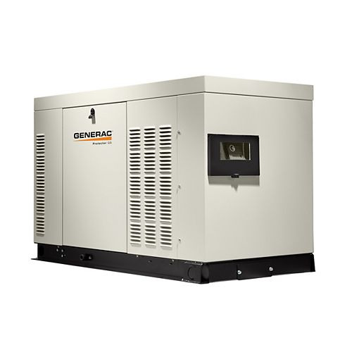 Generac 25,000-Watt 120-Volt/208-Volt Liquid Cooled Standby Generator 3-Phase with Aluminum Enclosure