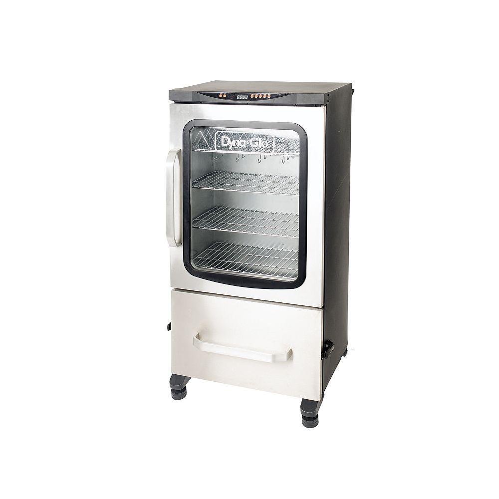 Dyna-Glo Fumoir électrique numérique Bluetooth à 2 portes avec espace de cuisson de 951 po2, 40 po
