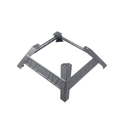 30-inch Heavy-Gauge Steel Electric Smoker Leg Stand