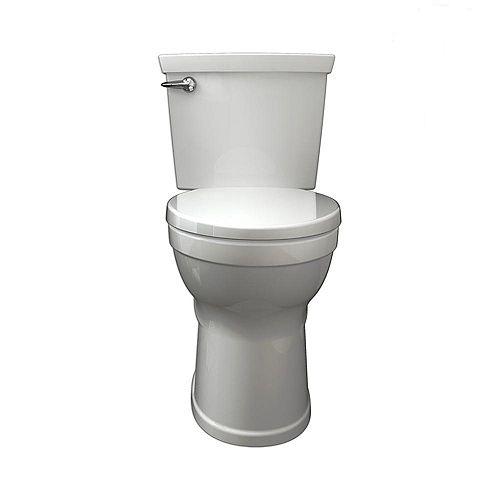 Champion 4 4.8 Toilettes à cuvette allongée à droite, 2 pièces, hauteur droite, en blanc