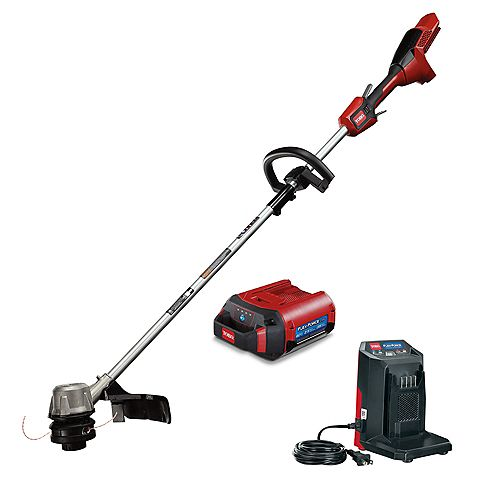 14-inch/16-inch Adjustable 60V Max Cordless Electric String Trimmer