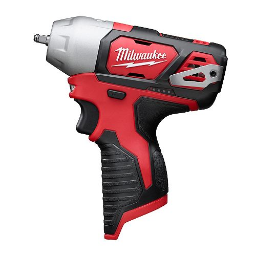 Milwaukee Tool M12 12V Lithium-Ion Cordless 1/4-inch Impact Wrench (Tool Only)