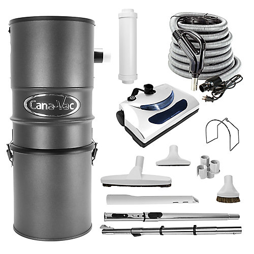 Powerful 651 Air Watt Electric Central Vacuum Cleaner Package