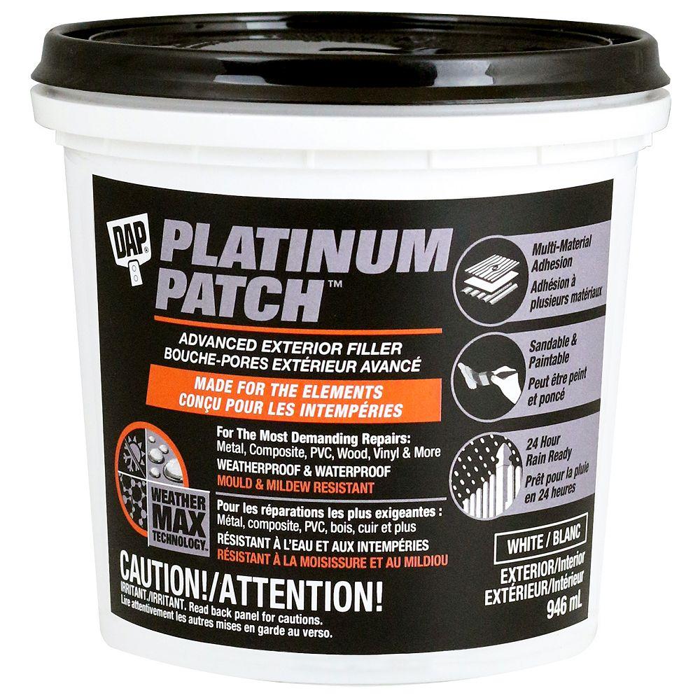 DAP Platinum Patch Advanced Exterior Filler 946 ML