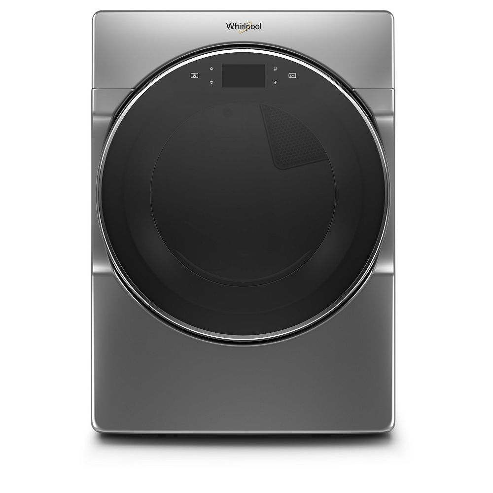 Whirlpool 7.4 cu. ft. Smart Front Load Gas Dryer in Chrome Shadow - ENERGY STAR®