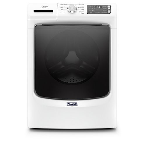 5.5 cu. ft. Front Load Washer with Steam in White - ENERGY STAR®