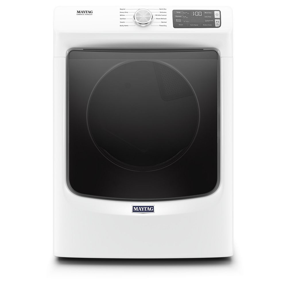 Maytag 7.3 cu. ft. Front Load Electric Dryer in White - ENERGY STAR®