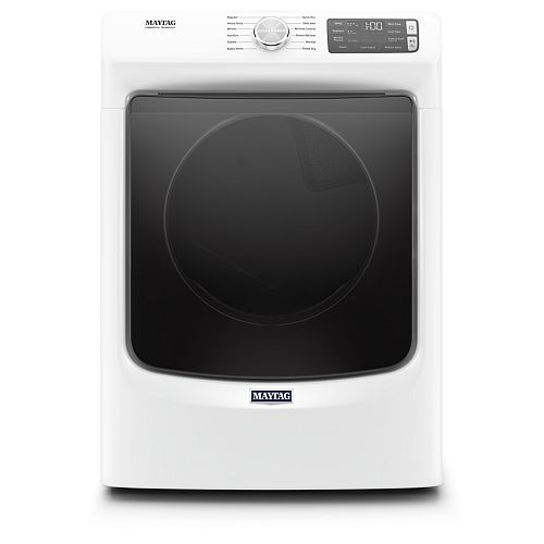 Maytag 7.3 cu. ft. Front Load Gas Dryer in White - ENERGY STAR®