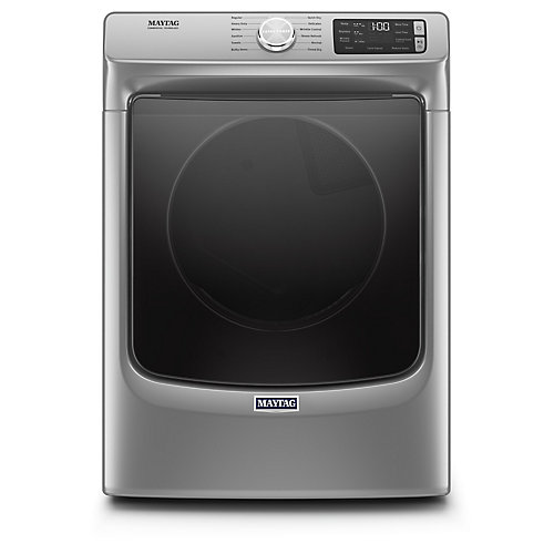 7.3 cu. ft. Front Load Electric Dryer in Chrome Shadow - ENERGY STAR®