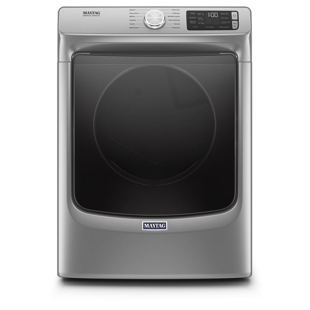 Maytag 7.3 cu. ft. Front Load Electric Dryer in Metallic Slate - ENERGY STAR®