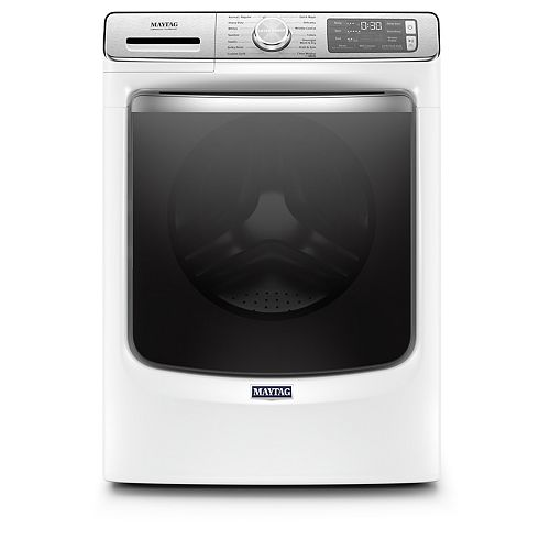 5.8 cu. ft. Smart Front Load Washer with Steam in White - ENERGY STAR®
