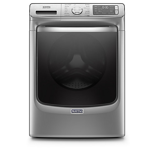 5.8 cu. ft. Smart Front Load Washer in Chrome Shadow - ENERGY STAR®