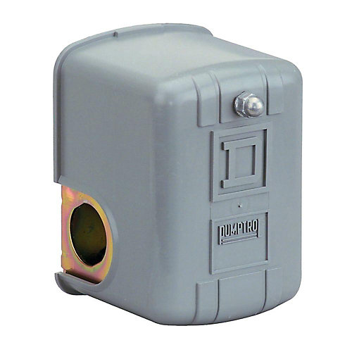 Manostats de surveillance de pression d'air PUMPTROL, Arrêt à 125 lb/po²