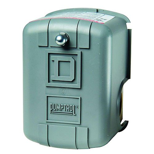 PUMPTROL Water Pump Pressure Switch  30-50 PSI