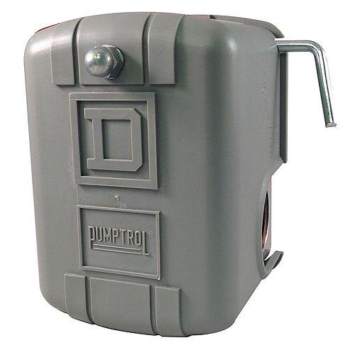 PUMPTROL Water Pump Pressure Switch  30-50 PSI Manual cut-out lever