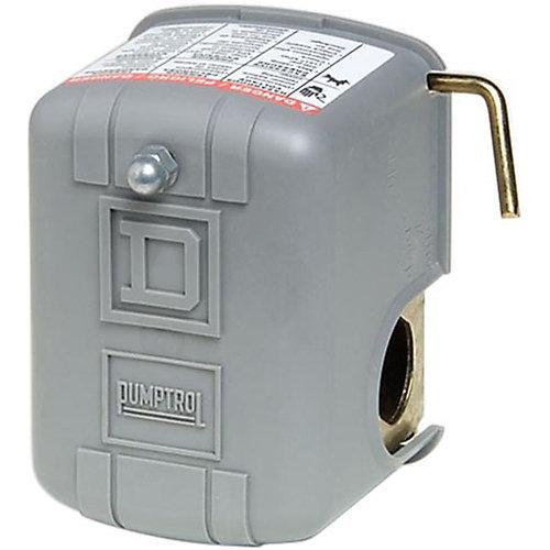 Le manostats de surveillance de pression d'air PUMPTROL 30-50 lb/po² Coupure à basse pression