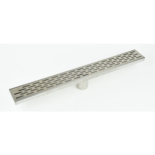 Luxury Drains Linear Shower Drain Grill Grid, 36 inch.