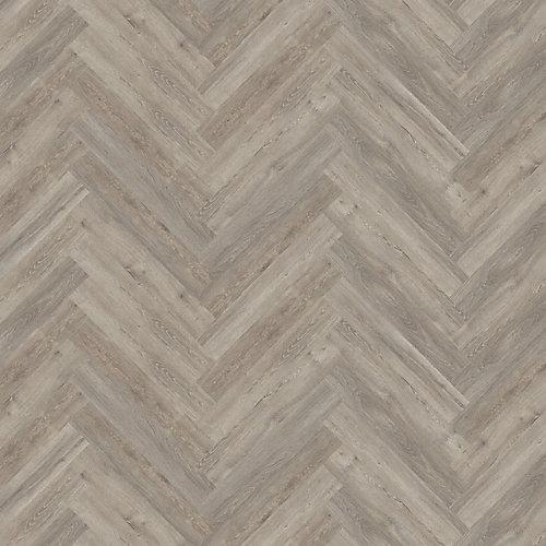 Biscayne Oak 4.72-inch x 28.35-inch Herringbone Luxury Vinyl Plank Flooring (22.31 sq. ft. / case)