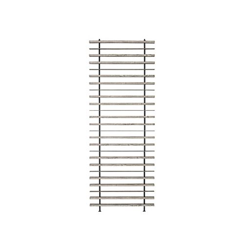 OSLO MDF Room Divider, 36 inch x 96 inch, Antique Finish