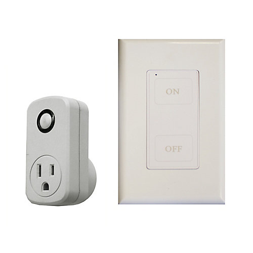 Wireless Remote Wall Switch/Outlet