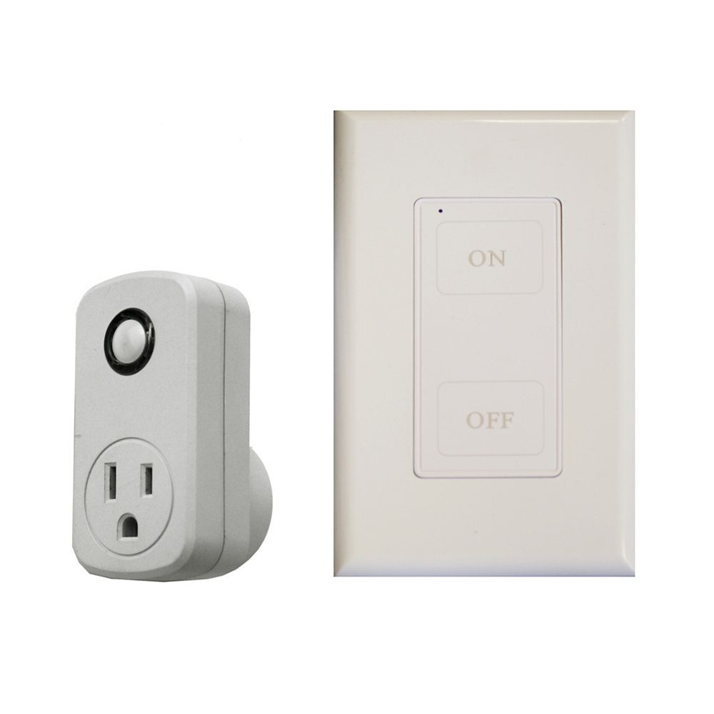 Atron Wireless Remote Wall Switch/Outlet