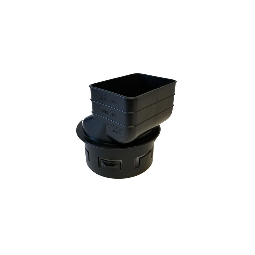 RELN 2 inch X 3 inch X 4 inch Downspout Adapter