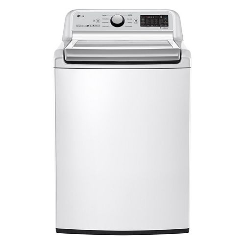 5.8 cu.ft Top Load Washer with in White - ENERGY STAR®