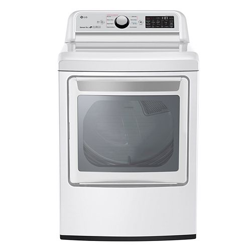 7.3 cu.ft. Electric Dryer with Ultra Large Capacity in White - ENERGY STAR®