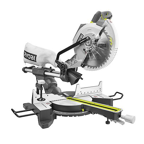 15 Amp 10-Inch Sliding Compound Mitre Saw