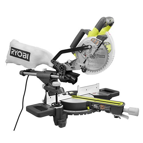 10 Amp 7-1/4 -Inch Sliding Compound Mitre Saw
