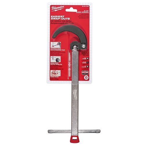2.5 -inch Basin Wrench