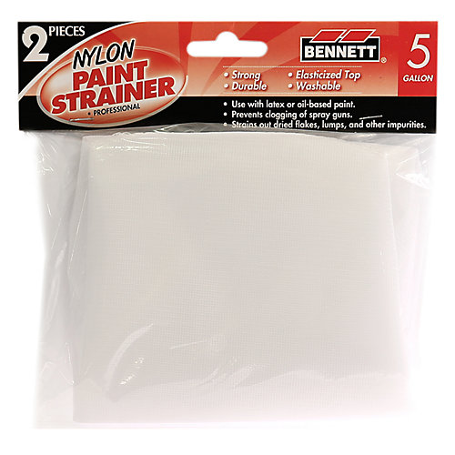 2 Pack Paint strainer, 5 Gallon
