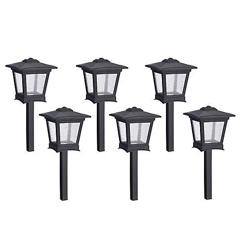 Lumières de sentier à DEL - Ensemble de 6