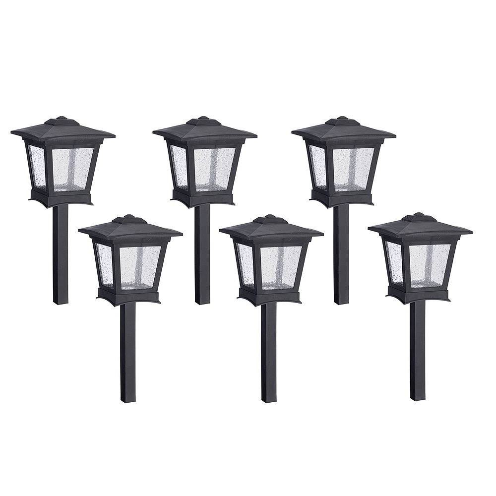 Paradise Low Voltage Led Pathway Lights Kit Set Of 6 The Home Depot Canada
