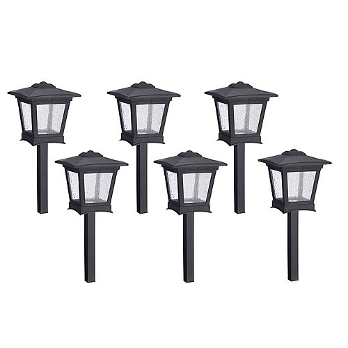 Low Voltage LED Pathway Lights Kit - Set of 6
