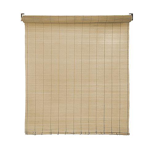 Store en bambou sans fil 48-72 po