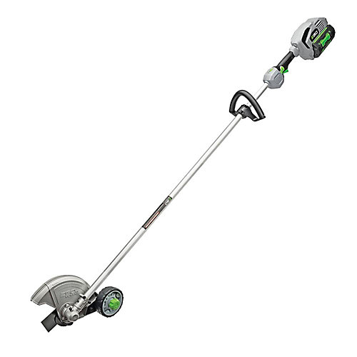 POWER+ 8-inch 56V Li-Ion Cordless Rear Motor Edger Kit - Includes 5.0Ah Battery and 210W Charger