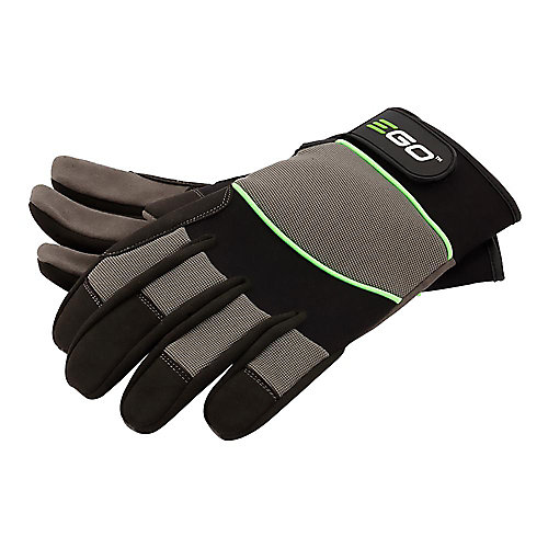 POWER+ Synthetic Breathable Work Gloves - Large