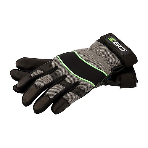 POWER+ Goat Skin Leather Work Gloves - Medium