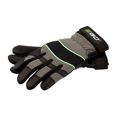 POWER+ Goat Skin Leather Work Gloves - Large