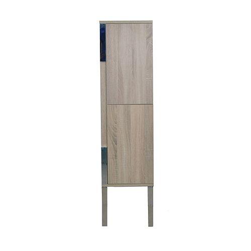 LUKX Modo David 14 inch Linen Cabinet in the colour Urban - Right Hinge