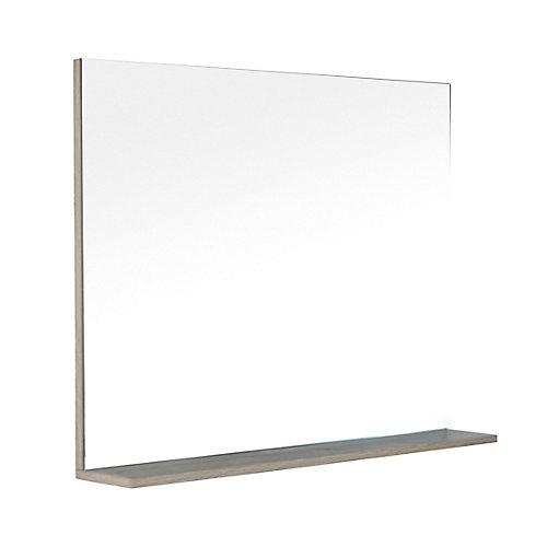 Modo David 40 inch Miroir de meuble-lavabo avec tablette en fini Urban