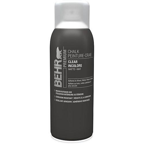 BEHR Chalk Decorative Aerosol Paint  - Clear, 340 g