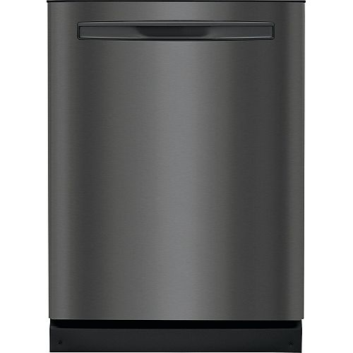 Frigidaire Gallery 24-inch Top Control Tall Tub Built-In Dishwasher with Dual OrbitClean Spray Arm in Black Stainless Steel - ENERGY STAR®