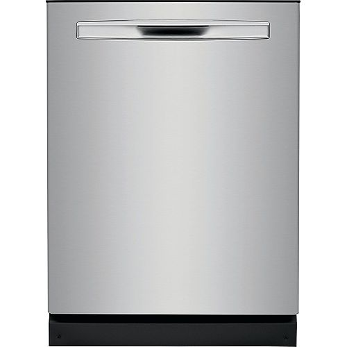 24-inch Tall Tub Built-in Dishwasher with Dual OrbitClean Spray Arm in Smudge Proof Stainless Steel - ENERGY STAR®